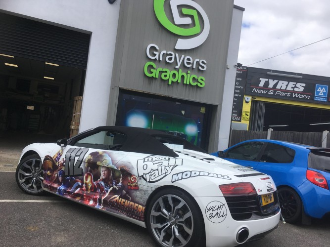 Car Wrap Gallery